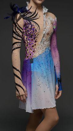 Dance Costumes Lyrical, Ballroom Hair, Figure Skating Costumes, Skating Dresses, Costume Dress, Skate, Hair Styles, Inspiration, Fashion