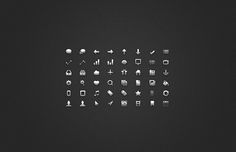 Glyph UI Icon Set - 365psd