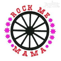Rock Me Embroidery Designs
