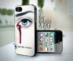 True Blood Don't Cry It's Back design for iPhone 4 or 4s case