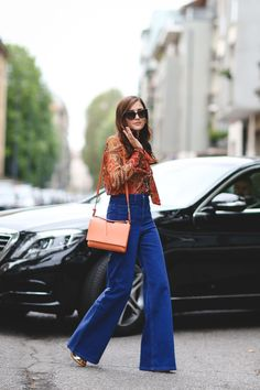 milan-fashion-week-spring-2016-street-style-pictures#slide-39  Congratulations on finding THE perfect pair of flares....