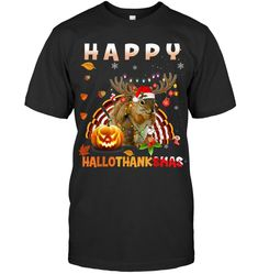 Thanksgiving Quotes Family Squirrel Halloween And Merry Christmas Happy Hallothanksmas