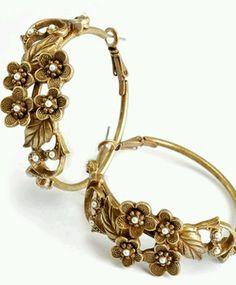 3028fb9ec Earrangs Cute Jewelry, Unique Jewelry, Jewelry Box, Jewelry Design,  Jewelery, Flower