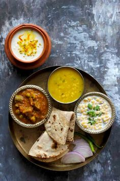 These 30 Everyday Indian Meals are packed with nutrient-rich foods and plenty of fresh fruits and vegetables. Our 30 everyday meals are worth bookmarking. Indian Food Recipes, Vegetarian Recipes, Cooking Recipes, Pancake Recipes, Healthy Recipes, Veg Thali, Indian Cookbook, Lunch Box Recipes, Rice Recipes