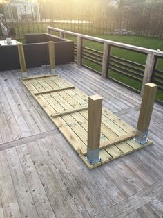 Backyard Patio Designs, Backyard Projects, Diy Patio, Outdoor Projects, Backyard Landscaping, Diy Outdoor Table, Patio Table, Outdoor Living, Outdoor Decor