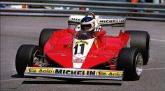 Grand Prix de Monaco,1978 #F1 #Formula1 Carlos Reutemann - Scuderia #Ferrari - Ferrari 312T3 032/Ferrari 015