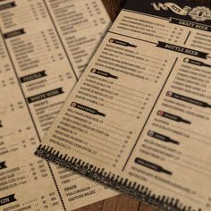 Lore Beer Menu is a perfect solution for Pubs, Bars as well as Cafes and Restaurants. It can be printed on craft paper to give the design an artisanal look. Menu Layout, Some Body, Fiber Foods, Kinds Of Salad, Eating Plans, Flan, Brochure Template, Stevia, Places To Eat