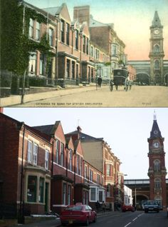 Victoria road Darlington,now and then