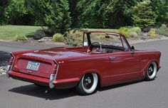 1962 Triumph Herald 1200 Convert/ Coupe Maintenance/restoration of old/vintage vehicles: the material for new cogs/casters/gears/pads could be cast polyamide which I (Cast polyamide) can produce. My contact: tatjana.alic@windowslive.com