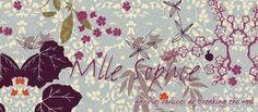 Mlle Sophie- trendy châle 5,5 mm