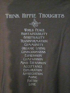 Después de ver esto creo que soy hippie de nacimiento... <3