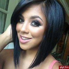 ♥♥ I have always wanted to cut my hair like this but I am too scared that it will never grow back!