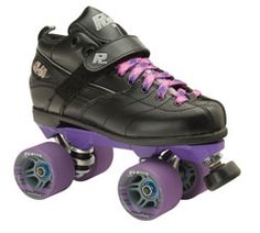 Rock GT 50 Speed Skates with Clawz Wheels  www.skateoutloud.com