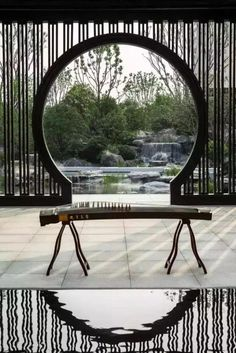 The Moon Gate: Modern Classic Chinese Architectural Designs … – Architecture Ideas Asian Architecture, Ancient Greek Architecture, Classic Architecture, Architecture Design, Modern Landscape Design, Modern Landscaping, Gate Design, House Design, Chinese Gate