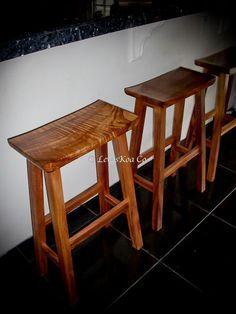 Hawaiian KOA wood furniture!