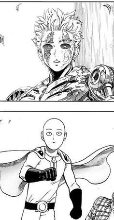 ☆カービイ☆ One Punch Man Funny, One Punch Man Anime, Anime One, Manga Anime, Genos X Saitama, Saitama One Punch Man, Metal Bat, Manga Drawing Tutorials, Anime City