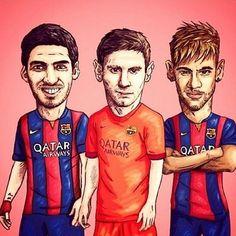 Suarez,Messi y Neymar   :)