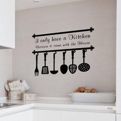 Kitchen Wall Sticker Ideas