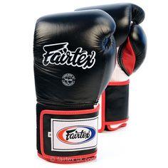 BGV5 Fairtex Black Sparring Boxing Gloves
