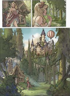 Songes Tome 2 Page 3 Final by TerryDodson on deviantART