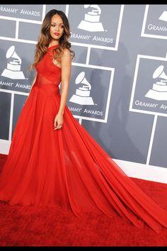 Rihanna in Azzedine Alaia, 2013