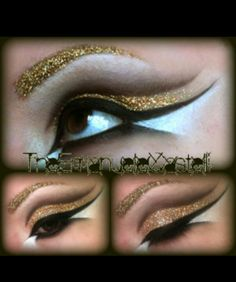 Love the dramatic gold ♥.