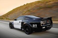 Police car Mustang Saleen Transformers
