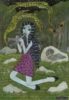 Maenads in the Forest--Bethy Williams
