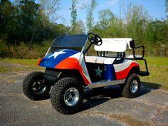 Texas golf cart