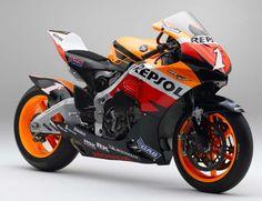 The moto GP Repsol.