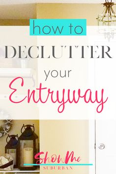 A cluttered entryway can cause frustration, embarrassment, and wasted time. Learn how to declutter your entryway with this free checklist! Care Organization, Entryway Organization, Declutter Your Home, Organizing Your Home, Organized Entryway, Entry Closet, Home Management Binder, Family Organizer, Front Entry