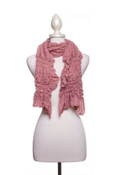 Dressing Your Truth - Type 2 Rosy Ruffles Scarf