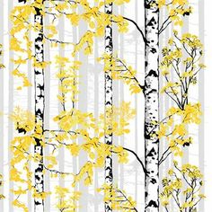 Bring nature into your home with the Luontopolku curtain by Vallila. The pattern was designed by Riina Kuikka, displaying blossoming birch trees. Available in different colors. Curtain Fabric, Curtain Rods, Scandinavian Fabric, Blue Bedroom, Window Treatments, Different Colors, Pattern, Inspiration, Birch Trees