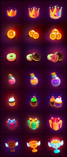 21 Miscellaneous game themed icons created using Affinity design software, you could use in your website, game, app, printing needs, etc. These icons are only fully editable & customizable in Affinity designer software. However a PSD file is included, icons are openable however not fully customizable in Photoshop. Also included are icons in 512x512px PNG Format (2 versions with & without background) as well as JPEG for ease of use. All icons are neatly organized into layers & grou...