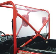 UTV Headquarters - Kawasaki Teryx Rear Shield/Back Panel Combo