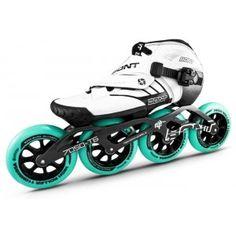 Bont Z Inline Speed Skate White/Black 2 Point 195mm