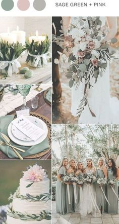 sage green and pink wedding color ideas for spring can find Wedding ideas and more on our website.sage green and pink wedding color ideas for spring 2019 Wedding Centerpieces, Wedding Bouquets, Wedding Flowers, Wedding Decorations, Table Centerpieces, Pink Wedding Colors, Wedding Color Schemes, Colour Schemes, Color Palettes