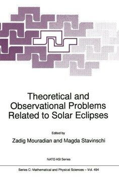 The NATO ARW on the problems of ground-based observations of Solar Eclipses was held in Sinaia (Romania) between 1 and 5 June 1996. The Workshop was divided into seven sessions in which 17 papers wer...