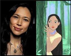 Irene Bedard the voice of Pocahontas