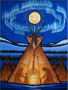 May the Sun bring you new energy by day.  May the Moon softly restore you by night.  May the rain wash away your worries.  May the breeze blow new strength into your being.  May you walk gently through the world and know its beauty all the days of your life.   ~ Apache Prayer  Art © Aaron Paquette