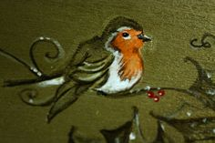 So cute Robin. I love birds 