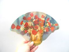 Vintage Trifold Advertising Fan Mid Century by PaperWoodVintage, $9.00