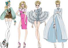 Disney Fashion Frenzy - Cinderella Set By: Daren J