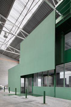 Adecuación de oficinas en una nave industrial | ARQUITECTURA-G