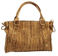 Eco-Friendly, Lightweight Cannes Cork Purse from Portugal