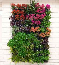 Vertical Wall Garden Ideas indoor vertical garden 10 great ways to grow your walls green add lifeliterally How To Make A Vertical Garden Vertical Gardens Are A Clever Way To Make The
