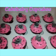 Pink Southern Comfort Red Velvet Cupcakes #cakebabycupcakes #cupcakes ...