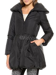 Pillow Collar Down Coat - Save Up to 70% Off on fabulous fashion trend products at Milano with Coupon and Promo Codes.