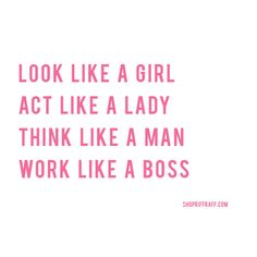 work like a boss... #RRHQuotes #RiffraffLove