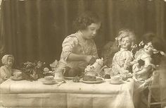 tea with the dolls